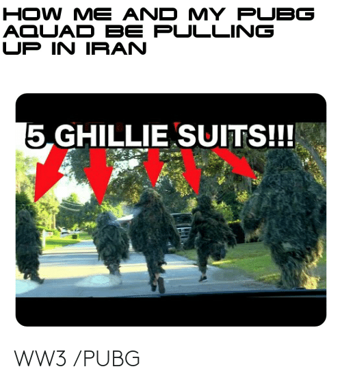 🐣 25+ Best Memes About Ghillie