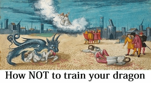 Train, Classical Art, and How: How NOT to train your dragon