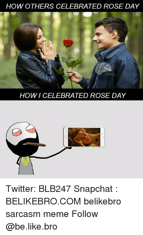 How Others Celebrated Rose Day Er Howi Celebrated Rose Day Twitter