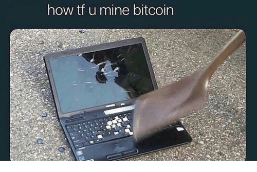 Bitcoin, How, and Mine: how tf u mine bitcoin
