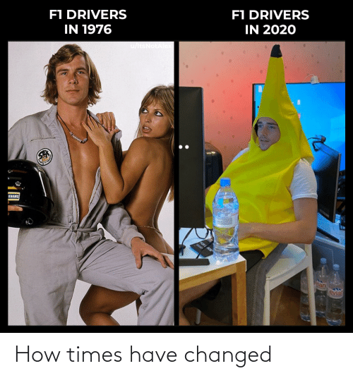 Changed: How times have changed