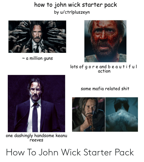 wick: How To John Wick Starter Pack