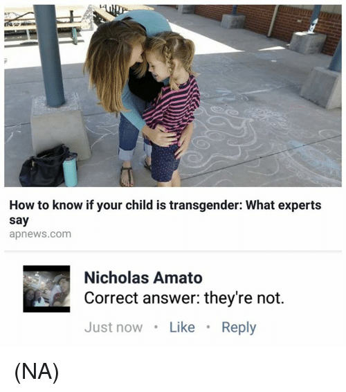 How Does A Child Know They Are Transgender