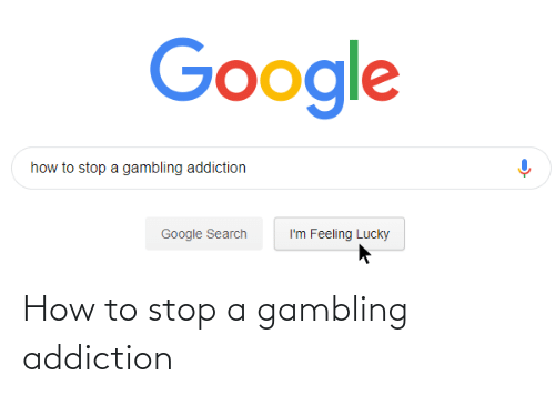 addiction: How to stop a gambling addiction
