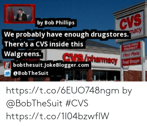 CVS: https://t.co/6EUO748ngm by @BobTheSuit #CVS https://t.co/1I04bzwflW
