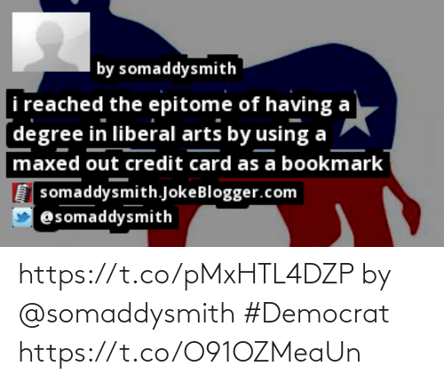 democrat: https://t.co/pMxHTL4DZP by @somaddysmith #Democrat https://t.co/O91OZMeaUn