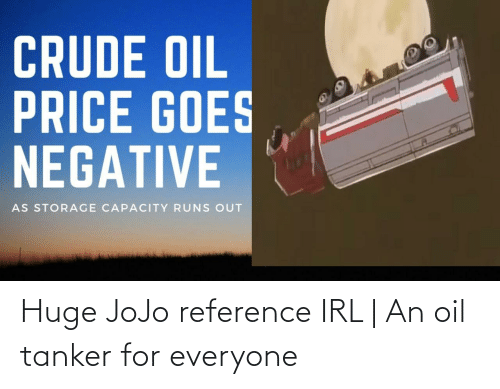 For Everyone: Huge JoJo reference IRL | An oil tanker for everyone
