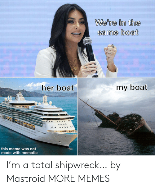 Dank, Memes, and Target: I'm a total shipwreck… by Mastroid MORE MEMES