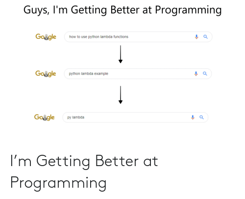 At: I'm Getting Better at Programming