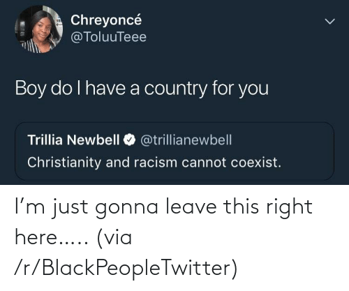 blackpeopletwitter: I'm just gonna leave this right here….. (via /r/BlackPeopleTwitter)