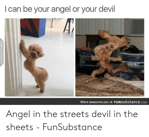 🐣 25+ Best Memes About Angle or Devil Meme | Angle or Devil