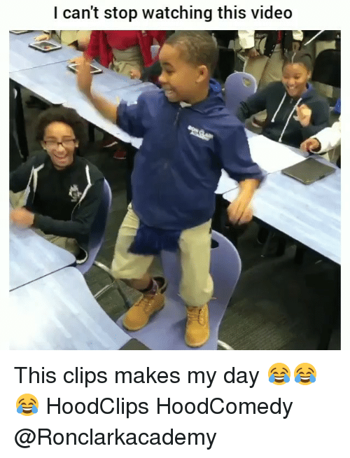 Hoodcomedy: I can't stop watching this video This clips makes my day 😂😂😂 HoodClips HoodComedy @Ronclarkacademy
