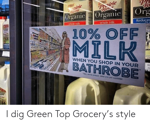 dig: I dig Green Top Grocery's style