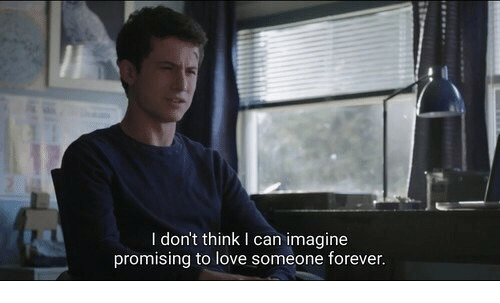 I Can Imagine: I don't think I can imagine  promising to love someone forever