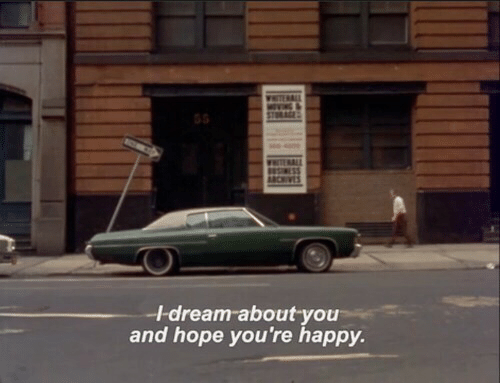 Happy, Hope, and Dream: I-dream about you  and hope you're happy.