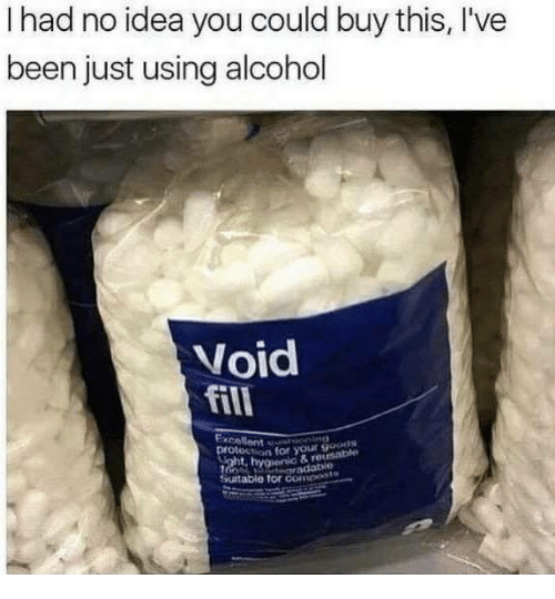Alcohol, Been, and Idea: I had no idea you could buy this, I've  been just using alcohol  Void  fill  cellent sot your saple  on for your 9oouts  hygienic & reun  table for compont  suit