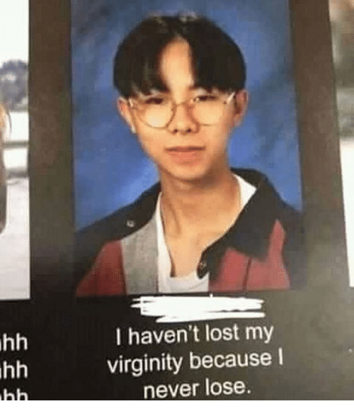 Lost My Virginity: I haven't lost my  virginity because I  never lose