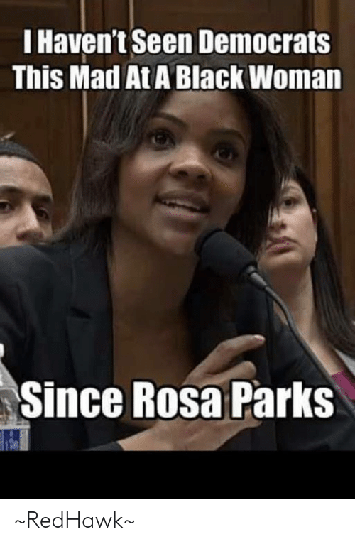 Rosa: I Haven't Seen Democrats  This Mad At A Black Woman  Since Rosa Parks ~RedHawk~