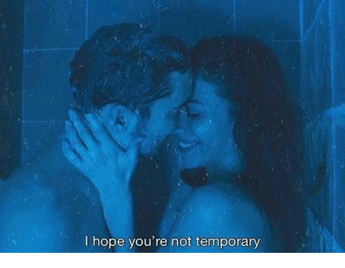 Hope, Youre, and Not: I hope you're not temporary