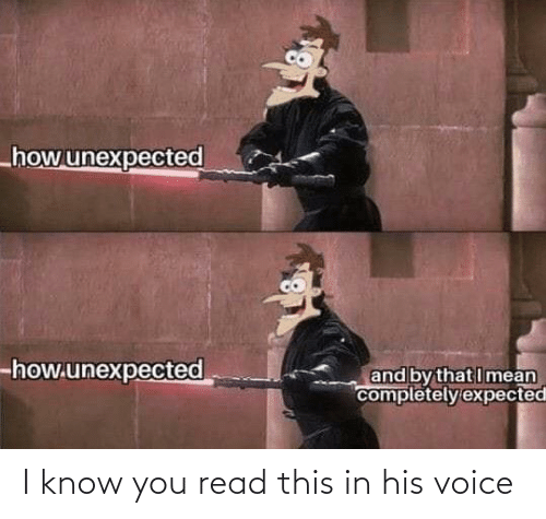 Know You: I know you read this in his voice