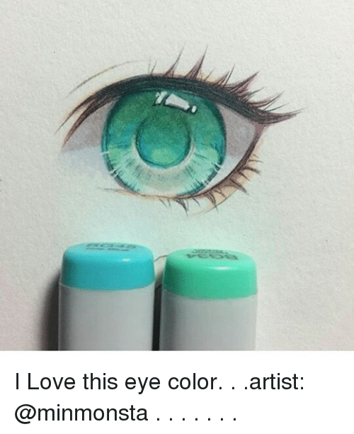 eyes color: I Love this eye color. . .artist: @minmonsta . . . . . . .