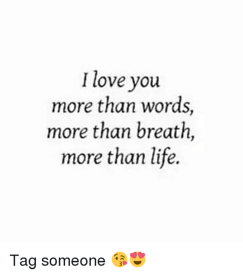 Love You More Than