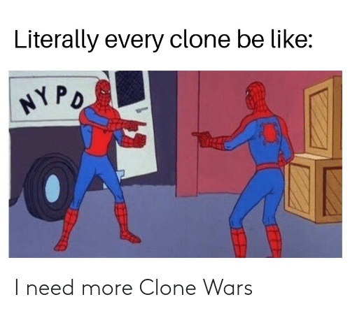 clone wars: I need more Clone Wars