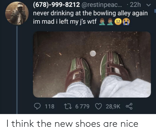 shoes: I think the new shoes are nice