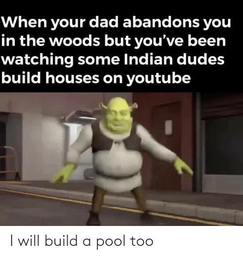 build: I will build a pool too