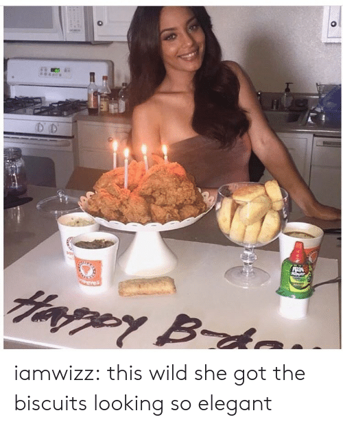 Tumblr, Blog, and Http: iamwizz:  this wild she got the biscuits looking so elegant