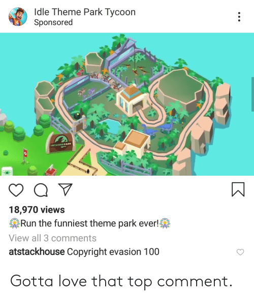 Idle Theme Park Tycoon Online
