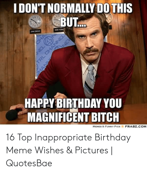 🐣 25+ Best Memes About Funny Inappropriate Birthday   Funny