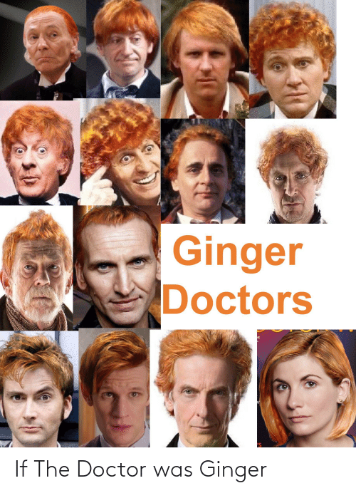 ginger: If The Doctor was Ginger