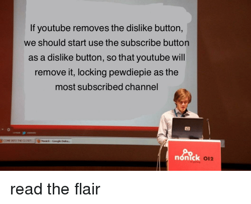 If Youtube Removes the Dislike Button We Should Start Use