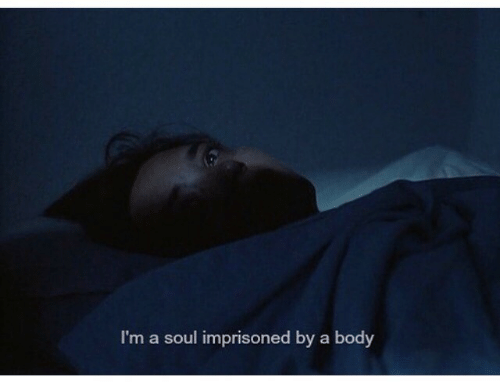 Soul, Body, and Im A: I'm a soul imprisoned by a body