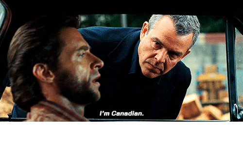 Canadian: I'm Canadian.