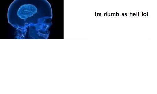Dumb, Hell, and  Im Dumb: im dumb as hell lo