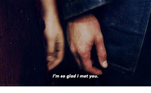 Glad I Met You: I'm so glad I met you.
