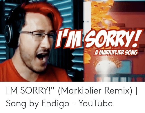 IM SORRY! A MARKIPLIER SONG I'M SORRY! Markiplier Remix