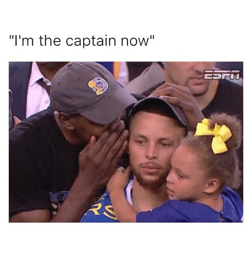 """Im The Captain Now: """"I'm the captain now""""  RS"""