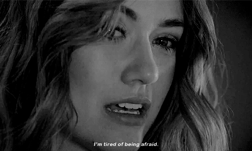 Tired, Afraid, and  I'm Tired: I'm tired of being afraid