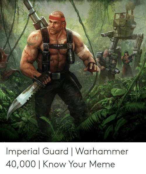 🐣 25+ Best Memes About Imperial Guard Memes | Imperial
