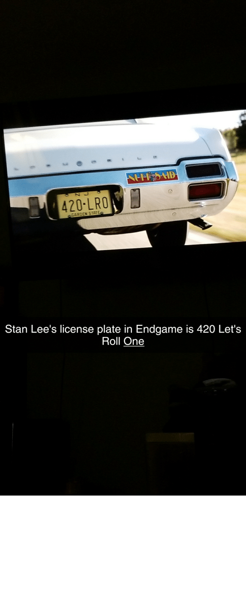 He Was: In Avengers Endgame 2019, Stan Lee hints that in his early years he was indeed a stoner.