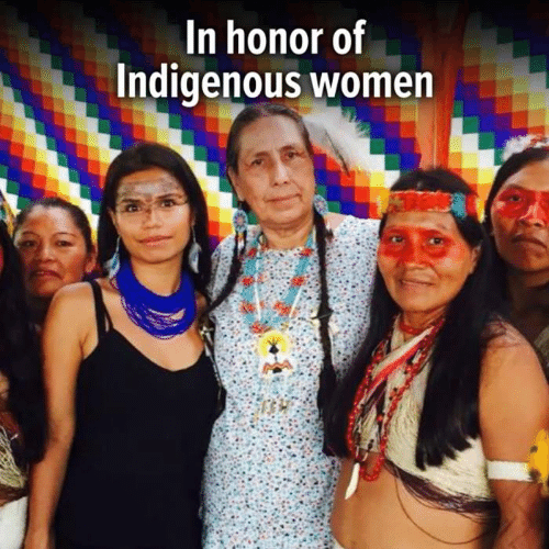 Memes, Women, and 🤖: In honor of  Indigenous women
