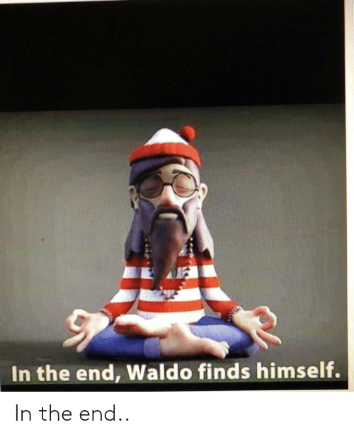 in the end: In the end..