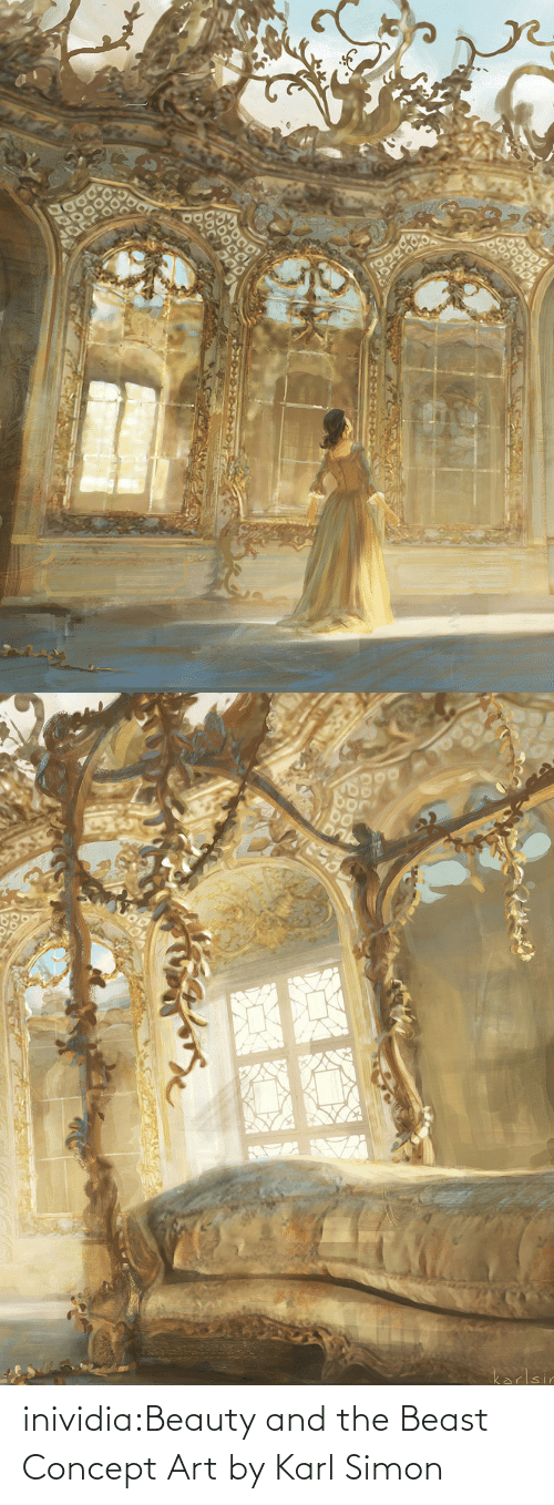 beast: inividia:Beauty and the Beast Concept Art by Karl Simon