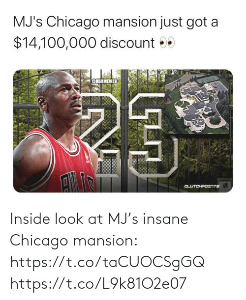 Chicago: Inside look at MJ's insane Chicago mansion: https://t.co/taCUOCSgGQ https://t.co/L9k81O2e07