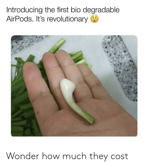 Introducing the First Bio Degradable AirPods It's