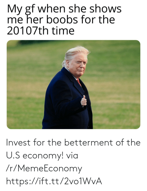 The U: Invest for the betterment of the U.S economy! via /r/MemeEconomy https://ift.tt/2vo1WvA