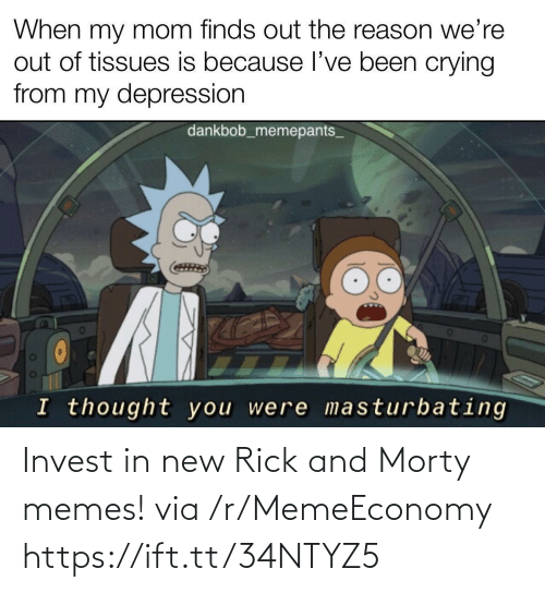 Rick and Morty: Invest in new Rick and Morty memes! via /r/MemeEconomy https://ift.tt/34NTYZ5